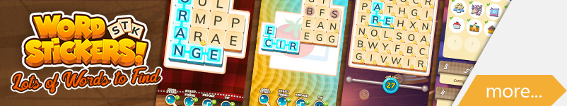 Word Stickers banner